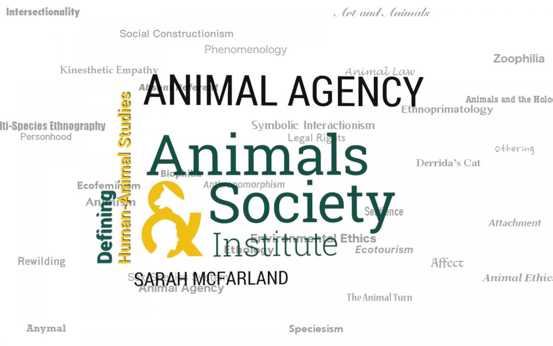 This Week in Defining Human-Animal Studies: Animal Agency with Sarah E. McFarland