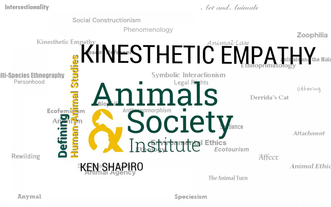 This Week in Defining Human-Animal Studies: Defining Kinesthetic Empathy with Ken Shapiro