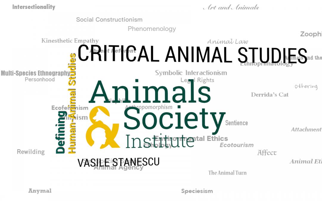 This Week in Defining Human-Animal Studies: Defining Critical Animal Studies with Vasile Stanescu