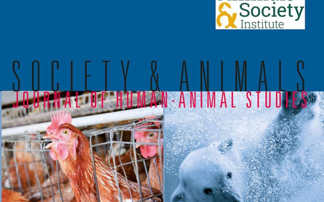 Call for Copyeditor for Society & Animals